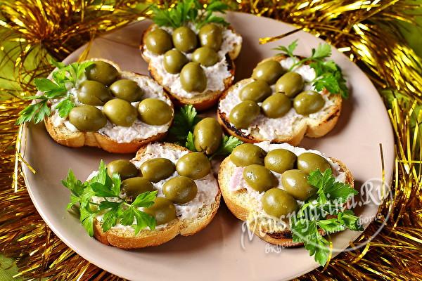 Бутерброды Виноградная гроздь