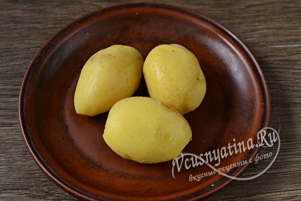 Новогодняя закуска «Под водочку» из простых доступных продуктов