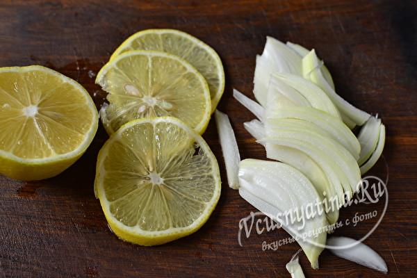 Маринованная селедка в соево-лимонном соусе с неповторимым вкусом