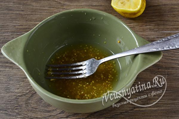 Запеченный толстолобик кусочками в очень вкусном маринаде