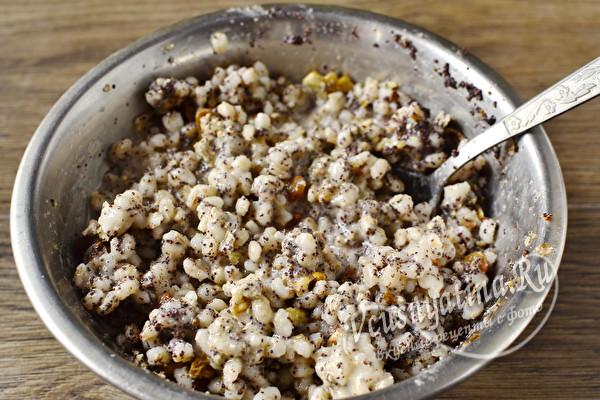 Кутья из пшеницы с халвой – рецепт на Рождество