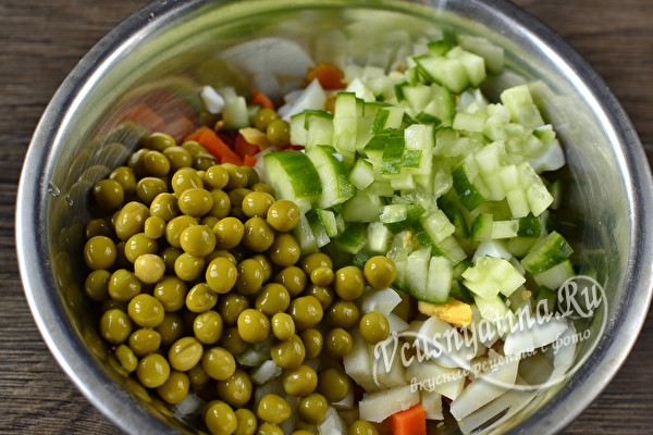 Готовим салат оливье Бык на новогодний стол 2021