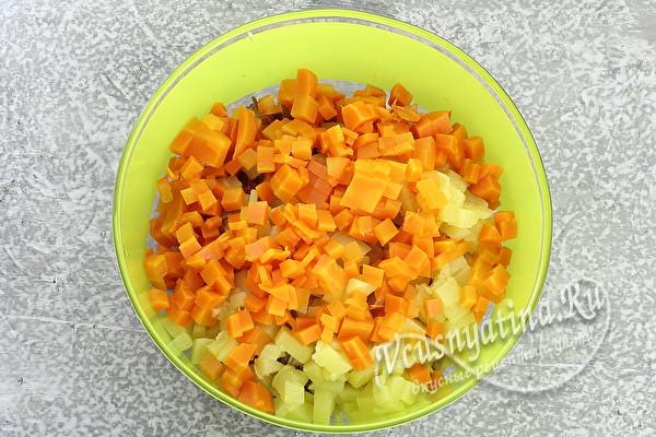 """Салат """"Снежинки"""" – как селедка под шубой, только в 100 раз вкуснее"""
