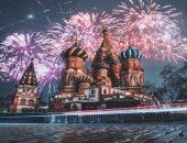Салют на новый год Москва