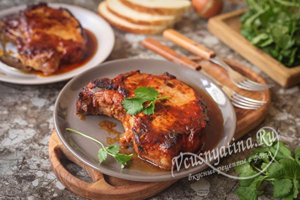 Чалагач или Челогач из свинины в духовке