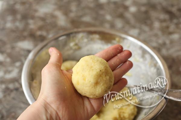 Вкусные оладушки из картофельного пюре
