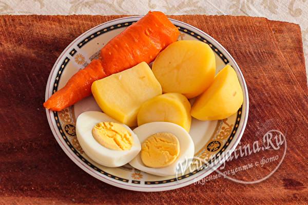 Салат «Печень под шубой» - просто объедение