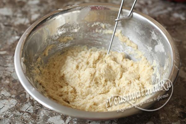 Пирог на яблочном пюре в духовке без сливочного масла