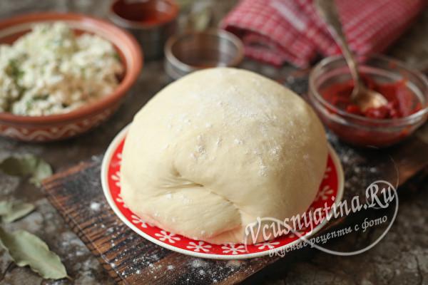 Тесто на кефире и соде