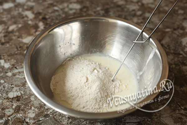 Тонкие блины с дырочками на кефире без соды