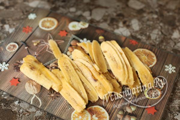Блинчики с банановым припеком