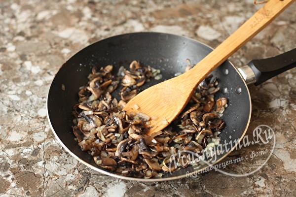 Блинчики с грибным припеком