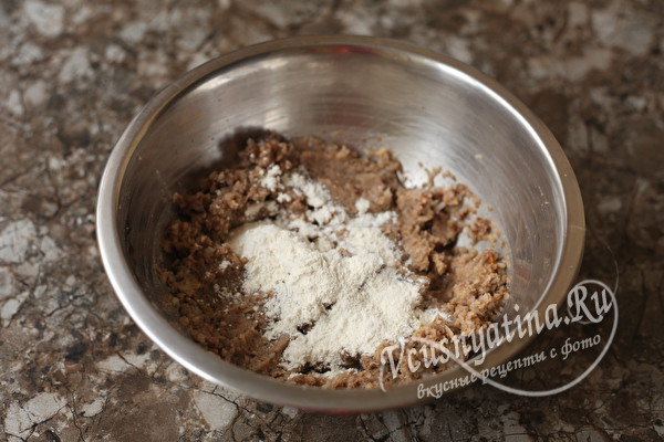 Котлеты из гречки с картошкой (постные)