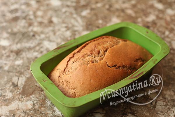 Постный пирог на чае по-монастырски