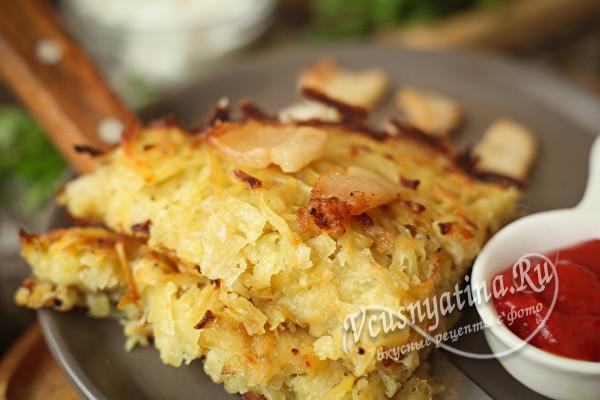 Драчёна картофельная по бабушкиному рецепту