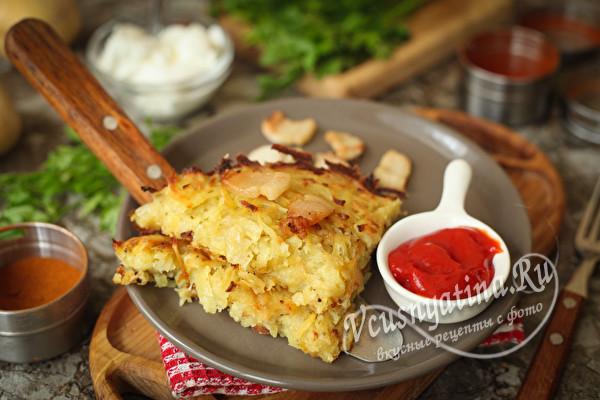 Драчёна картофельная