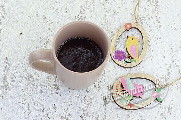 Вкусный кофейный кулич на Пасху