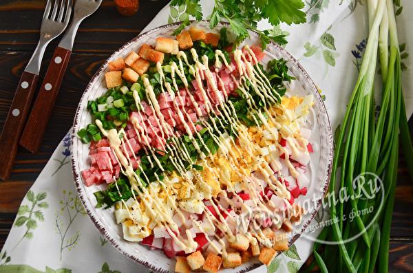 Простые и вкусные салаты с редиской