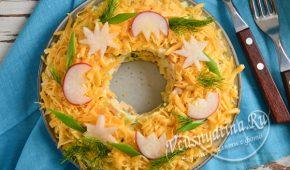 Миниатюра к статье 8 простых и вкусных салатов на Пасху