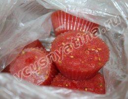 Как заморозить помидоры