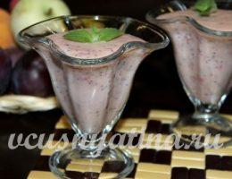 Миниатюра к статье Смузи из смородины с фруктами и маком на кефире – настоящее наслаждение!