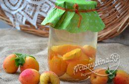 Компот из абрикоса на зиму