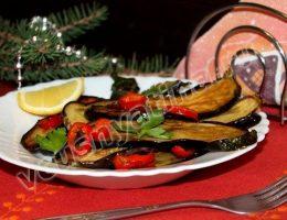 Баклажаны в карамели: рецепт с фото для Нового года 2015