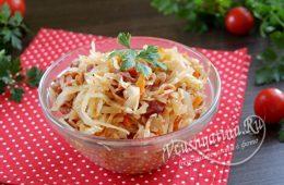Миниатюра к статье Бигос из капусты — польский рецепт