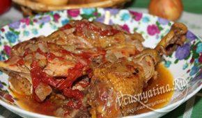 Миниатюра к статье Домашний петух — деревенские рецепты с фото