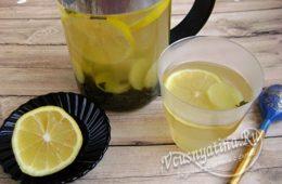 Миниатюра к статье Зелёный чай с имбирём и лимоном — худейте с удовольствием