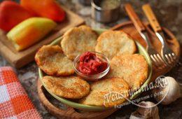 Картофельные драники без муки и яиц