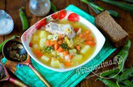 Миниатюра к статье Как сварить гороховый суп, чтобы горох разварился скорее