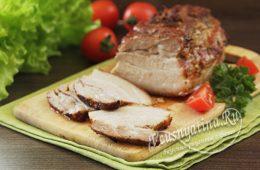 Свиная грудинка в духовке вместо колбасы