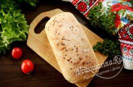 Хлеб на пиве в духовке