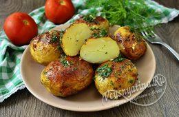 Миниатюра к статье Как запечь молодую картошку с хрустящей корочкой на кожуре