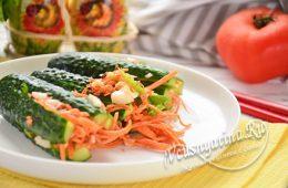 Кимчи из огурцов по-корейски