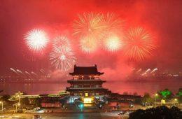 китайский новый год празднование