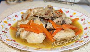 Миниатюра к статье Курица с подливкой – простой и вкусный рецепт