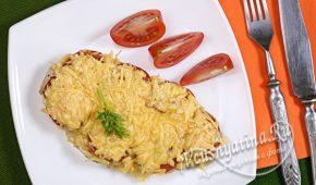 Миниатюра к статье Запеченные куриные грудки с помидорами и сыром