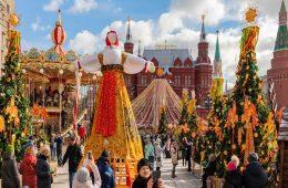 Миниатюра к статье Масленица в Москве 2020: программа мероприятий, гулянья на Красной площади