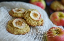 Миниатюра к статье Вкусное овсяное печенье из овсяных хлопьев с яблоком для пп