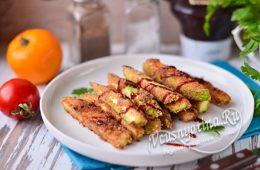 Миниатюра к статье Хрустящие палочки из кабачков — вкусный рецепт закуски к фильму