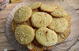Сметанное песочное печенье