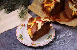 Миниатюра к статье Пирог с творогом — 12 рецептов очень вкусных быстрых и нежных творожных пирогов