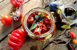 Вяленые помидоры и сливы в домашних условиях