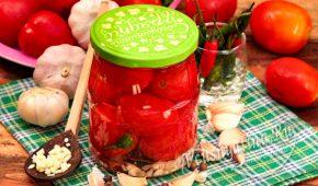 Миниатюра к статье Маринованные помидоры на зиму – вкусно, даже рассол не выливаю