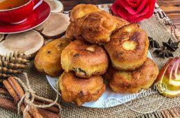 Ленивые яблочные пончики