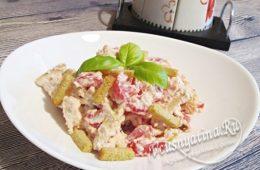 Миниатюра к статье Салат «Минутка» — ну очень быстрый салатик и безумно вкусный