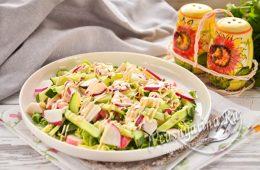 Миниатюра к статье Простые и вкусные салаты с редиской