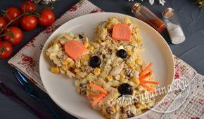 Миниатюра к статье Вкусный салат на Новый год 2020 в виде мышки